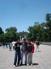 Algunos llegamos tan de mañana que pudimos gozar de un paseo por Cd. de México