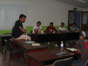 Junto con Padre Ernesto los JSF se conocieron mas a fondo a ellos mismos realizando una autobiografía