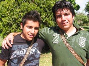 Ocotlán, Jalisco presente en esta convivencia. Los hermanos Carlos y Jorge
