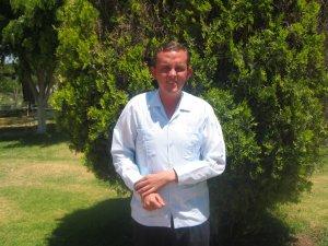 """Miguel de Guadalajara, Jalisco. """"La primera palabara de Dios es amor""""."""