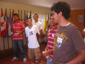 Los Jóvenes Sin Fronteras del 2010.
