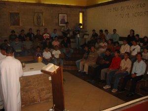 Santa Misa de Clausura con la presencia de algunos de nuestros Familiares.