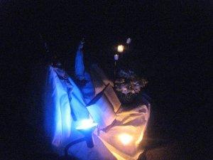 La noche del viernes, tuvimos la vigilia de las estrellas...