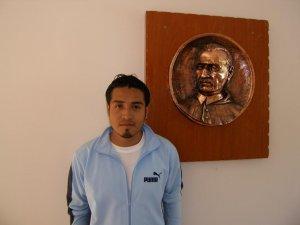 Otro de Poza Rica, este es Daniel.