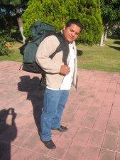 Los Misioneros siempre ligeros de equipaje.... jejeje<br />