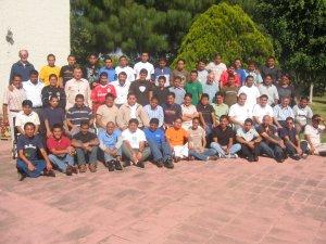 La Gran Familia Scalabriniana de los Seminarios de México, reunida en Guadalajara, Jal. para festejar a su Santo Patrono: San Carlos Borromeo.