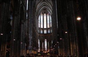 Interior de la Catedral de Colonia