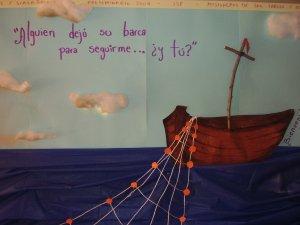 Dios nos invita a subir a su barca