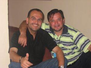 El hermano Raul y el P. Fernando