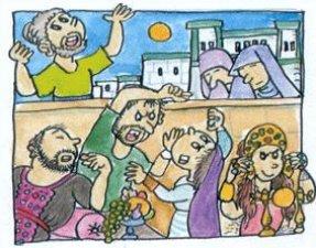 7. Isaías -ganó con esta acción un gran prestigio en Jerusalén, pero esto no evitó <br /> que siguiera profetizando y anunciando que si seguían pecando acabaría llegando <br /> el castigo de Dios, como ocurriría con la destrucción de Jerusalén.