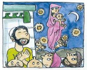 """4. Una de sus profecías más famosas fue la del Emmanuel. """"He aquí que la Virgen concebirá y dará a luz un niño al que llamarán Emmanuel, que significa Dios con nosotros"""". Anunciando así el nacimiento de Jesús de la Virgen María."""