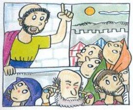 """3. Isaías comenzó entonces a transmitir los mensajes de Dios, pidiendo a todos que se apartaran de su vida de pecado y comenzaran una nueva vida. Pero se cumplió algo que le había dicho Dios en aquella visión: """"Teniendo oídos, no querrán escuchar""""."""