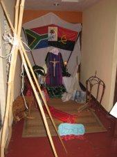Aquí oramos por el continente Africano..........