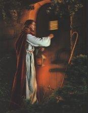 Jesús, por favor, no te canses de tocar a nuestras puertas...