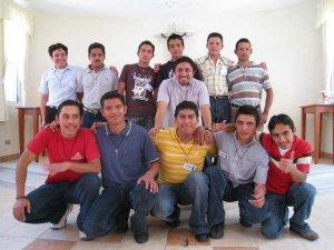 Foto-Recuerdo del Primer Encuentro de los JSF de Guatemala.