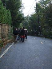 El misionero y el migrante se cansan cuando no caminan.