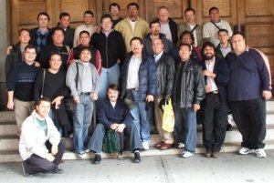 Los Padres de las dos Provincias de Norteamérica estuvimos en Staten Island NY para nuestro Encuentro de Sacerdotes Jóvenes 2006. Trabajamos en Canadá, Estados Unidos, México, Guatemala, Haití, República Dominicana, Colombia y Venezuela.