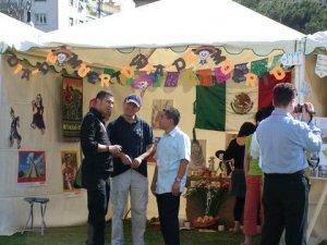 Ahuízotl: seminarista Scalabriniano de Oaxaca (el más chaparro de camisa blanca).