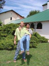 Joel Spies y Carlitos, de Paraguay.