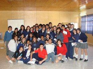 Jornada Vocacional en el Colegio J.B. Scalabrini de Mendoza, Argentina.