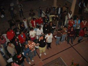 Grupo Juvenil de la Parroquia de Santiago Apóstol en Ameca, Jal.
