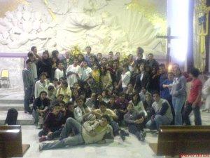 Velada de los Adolescentes de ECOS, Parroquia de Getzemaní de la Cruz, Guadalajara, Jal.