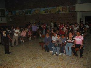 Adolescentes de la Parroquia de San José Artesano, Col. Artesanos, Tlaquepaque, Jal.