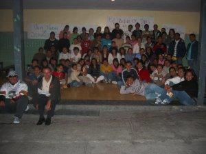 Grupo Juvenil de la Parroquia de San Onofre, Col. Oblatos, Guadalajara, Jal.