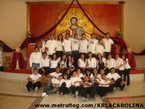 Grupo Pascua Juvenil San Felipe de Jesús de la Parroquia de Purísima de Bustos, Gto.