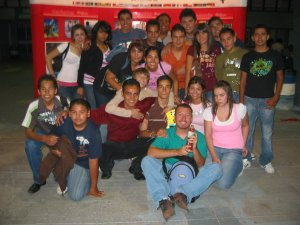 Jóvenes integrantes la Pastoral Juvenil de la Parroquia de la Visitación, Col. Tabachines, Guadalajara, Jal.