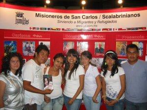 Jóvenes integrantes la Pastoral Juvenil de la Parroquia de San Onofre, Col. Oblatos, Guadalajara, Jal.