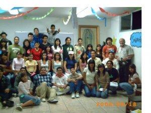 "Jóvenes del Grupo ""Totus Tuus"" del Templo de San José Obrero, Col. San Marcos, Guadalajara, Jal."