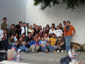 Posada Navideña de los Jóvenes del Decanato de San Pedrito, Tlaquepaque, Jal. en la Parroquia de la Purísima Concepción, Col. Las Huertas.