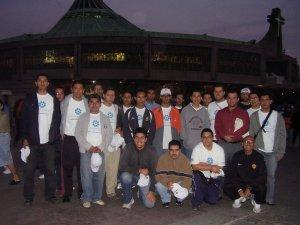 Los seminaristas después de la Celebración Eucarística.