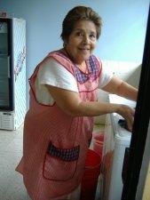 Doña Carmelita, la que nostrato como sus hijos.