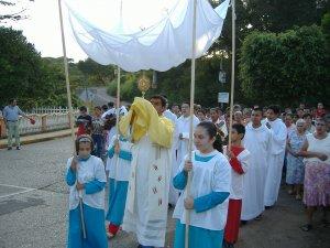La procesión de Corpus Cristi en Colonia.