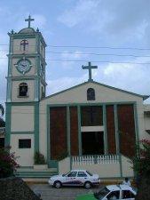 La parroquia de Manuel Gonzáles, en el exterior...