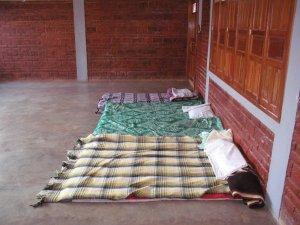 La cama del misionero.