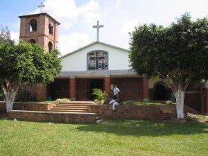 La capilla por fuera...