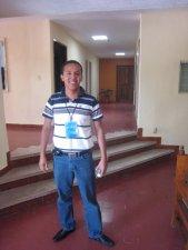 Jorge nuestro sicólogo, quien ha estado acompañando a los jóvenes en la busqueda de un si, para seguir a Dios