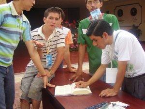 La Sagrada Escritura formó parte esencial de nuestro Rally, además de divertirnos mucho, aprendimos bastante.