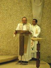 El Superior Provincial, Padre Antonio Tapparello, agradeció a los participantes.