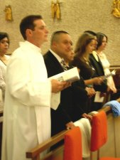 Leandro Fossá, cs con entusiasmo ofreció su vida a Dios en el servicio del Diaconado, en preparación para su Ordenación Sacerdotal.