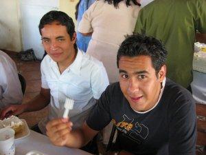 Los JSF Omar y Miguel Ángel.