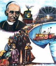 """El Beato Juan Bautista Scalabrini sintió el llamado para """"llevar donde haya migrantes, el consuelo de la fe y la sonrisa de su tierra"""".<br />"""