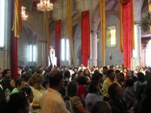 Invitados esperaban el inicio de la Ordenación Sacerdotal