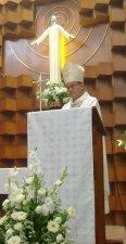 Mons. José Leopoldo, hizo una homilia magistral, sobre el ministerio sacerdotal, tomando la dotrina de la Iglesia e inclusive citó algunos escritos del Beato Scalabrini, gracias Monseñor por esa enseñanza
