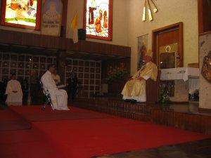 En su Homilía el Señor Cardenal exortó a Mauro a ser un Sacerdote y Misionero entregado a los Migrantes.
