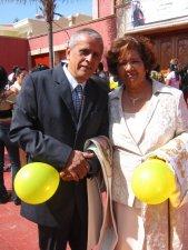 Margarita y Francisco: los Padres de Mauro.