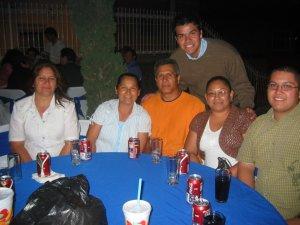Gente de Ocotlán, Jal.:  Familiares del Seminarista Gerardo, junto al Seminarista Alejandro.